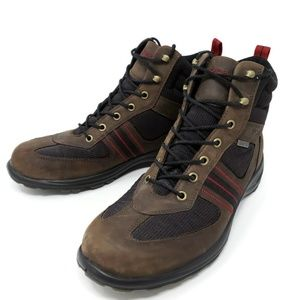 ECCO Women's Gore Tex Boots Lace Up Hiking